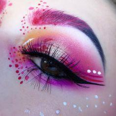 Makeup looks – Lush Makeup Ideas Eye Makeup Art, Eye Art, Glam Makeup, Makeup Inspo, Eyeshadow Makeup, Makeup Inspiration, Eyeliner, Eyebrows, Beautiful Eye Makeup