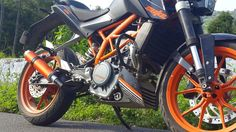 Read more: http://www.way2speed.com/2014/10/ktm-390-duke-performance-exhaust.html  KTM 390 DUKE Performance Exhaust kit comes with a custom bent Mid Pipe. with way2speed KTM 390 DUKE Performance Exhaust no tuning required just plug in and play. KTM 390 DUKE Performance Exhaust   Way2speed GP Series is Road legal and built with emission control norms. way2speed KTM 390 DUKE Performance Exhaust includes removable db Killer, Clamps, and a connecting pipe.