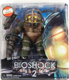 Bioshock 2 Big Daddy Bouncer NECA Action Figure
