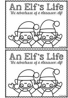 FREE..An Elf's Life (Elf Journal)...English Language Arts, Writing, Christmas/ Chanukah/ Kwanzaa PreK, Kindergarten, 1st, Homeschool Literacy Center Ideas...Celebrate the holiday season with this mini elf journal - perfect for creative writing in the classroom. Help your students develop the personality and quirks of an elf and chronicle its' adventures.