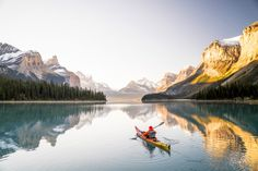 Kayaking In Alberta, Canada Photography By: Chris Burkard