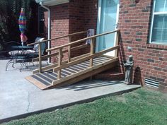 How To: Determine wheelchair ramp length required for loading ...
