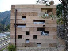 """Final Wooden House"" by Sou Fujimoto C More Amazing Photos @"