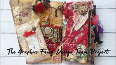 Fortune Teller Journal -September Design Team – Luna Rozu - The Graphics Fairy Journal Covers, Journal Notebook, Altered Books, Altered Art, Graphics Fairy, Autumn Crafts, Art Pages, Fabric Scraps, Vintage Images