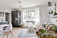 주방이 매력적인 북유럽의 18평아파트인테리어 : 네이버 블로그