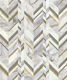 Royale / Odyssée Collection featured in natural stones (Calacatta Oro & Pacifica Blue), Venetian Glass & brushed brass Floor Patterns, Wall Patterns, Mosaic Patterns, Textures Patterns, Tiles Texture, Marble Texture, Floor Texture, Floor Design, Tile Design