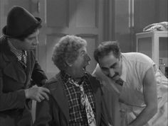 A Day at the Races (1937), The Marx Brothers, Groucho Marx, Chico Marx, Harpo Marx