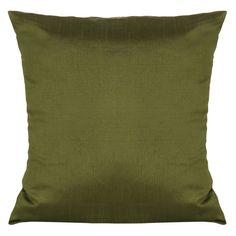 Set of 2 Solid Moss Green Pillow Cover Moss Green Sham Moss