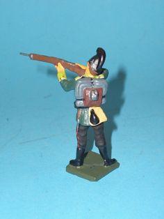 2383 – Lineol Soldat stehend schießend 7,5cm Serie Sehr Gut | eBay