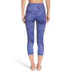 Rank & Style - Zella Hatha High Waist Crop Leggings #rankandstyle