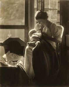 Breastfeeding is the best for babies, and it's good for their health, too. But it's not always easy. Check out these lovely vintage photos t...