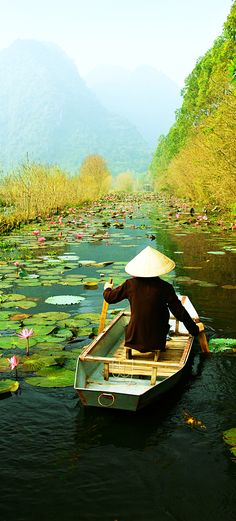 De Mekong Delta in Vietnam