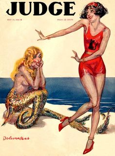Judge Magazine,1926  Art by Delevant