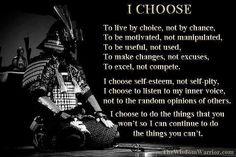 Wisdom Warrior Quote!