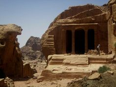 Inside of Petra Lost City   Inside Petra – The Lost City