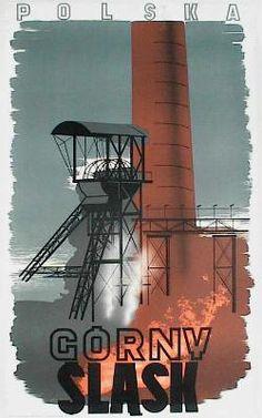 designer: Langner Wiktor Zbigniew poster title: Gorny Slask year of poster: 1937