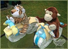 motorycle diaper cakes