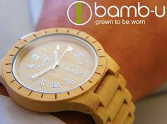 Husky - bamb-u, Australia's first all bamboo watches and sunglasses brand. #bamboo #fashion #lifeinstyle