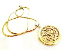 Beautiful Vintage Scrolled Locket and 18 by AntiqueAlchemyShop, $18.00