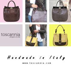 Toscannia, handmade leather handbags created in Limited Edition in the heart of the Italian Tuscany. www.toscannia.com  Toscannia, bolsos de piel personalizables hechos a mano en edición limitada en el corazón de la Toscana italiana. www.toscannia.com