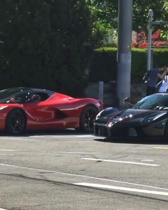 HyperCar Family Cruising On The Street