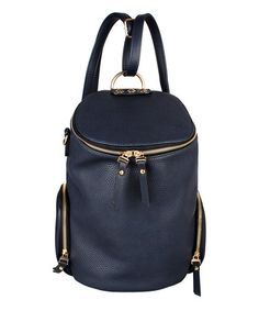 This Blue Aylin Bucket Bag by Amore is perfect! #zulilyfinds