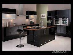 Buy Black Kitchen Worktops & Countertops | Granite, Quartz & Marble in L... Modern Kitchen Interiors, Luxury Kitchen Design, Kitchen Room Design, Contemporary Kitchen Design, Best Kitchen Designs, Home Decor Kitchen, Interior Design Kitchen, Kitchen Furniture, Kitchen Ideas