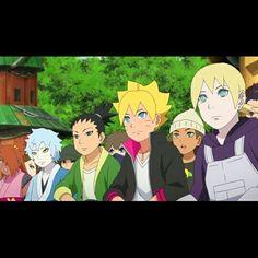 #shikadai#inojin#boruto#mitsuki#naruto#anime#manga#photo#friends