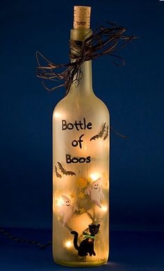 Bottle of Boos (hahaha!) Did this came out awesome :)