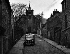 Tour Scotland Photographs: Old Photograph Church Road Stromness Orkney Islands Scotland