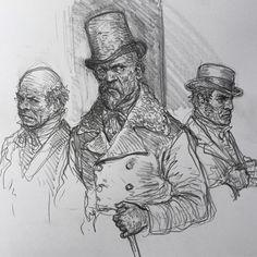 Drawing Cartoon Characters, Cartoon Drawings, Art Drawings, Portrait Sketches, Drawing Sketches, Character Art, Character Design, Arte Black, Beautiful Sketches