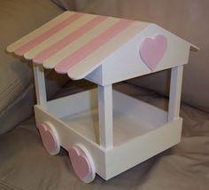 Candy cart ferris wheel izzbizzsweettreats for Kiosco bar madera