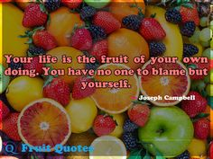 No one can get Joy by merely asking for it. It is one of the ripest fruits of the Christian life, and, like all fruits, must be grown. All Fruits, Best Fruits, Fruit Quotes, Ripe Fruit, Fruit Fruit, Banana Fruit, Dance Proposal, Happy Fruit, Fruit Flies
