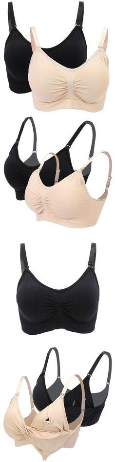 9e43628dd0b27 Bras 11517  U-Shaped Back Women Nursing Bras Maternity Breastfeeding  Pregnant Bra Underwear -