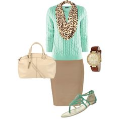 Dressy Casual, created by audreyfultz18 on Polyvore