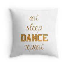 DANCE – motivation graphic. Dance Motivation, Cat Sleeping, Eat Sleep, Throw Pillows, Design, Toss Pillows, Cushions, Decorative Pillows