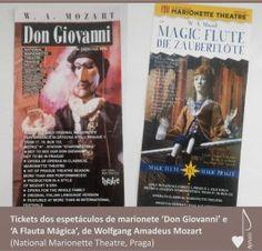 As tradicionais marionetes de Praga