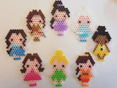 Disney Fairies perler beads by e_rika753