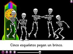 Spanish songs for kids: Fun song in Spanish for Halloween and Day of the Dead. Also good for numbers in Spanish / time in Spanish. #Día de los muertos #Spanish for kids #Spanish learning http://www.youtube.com/watch?v=CYyRibaMQoA