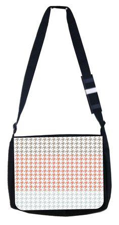 White Fractal Tiger School Backpack and Pencil Case Set