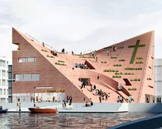 NOMOstudio envisions a multidimensional church in copenhagen