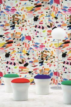 """ARTY"" | Wallpaper by La Maison Pierre Frey"