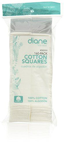 Diane DEE033 24Inch Standard Cotton Squares  160 Count -- You can find more details by visiting the image link. (Note:Amazon affiliate link)
