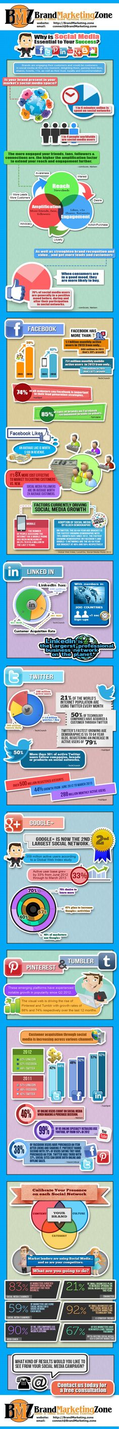 Brand Marketing Zone Ltd. Infographics explaining why Social Media Optimization is essential today and how to get customers and sales from social media networks. Send us a message for details and pricing and to schedule your free consultation on social media optimization. http://brandmarketing.zone/
