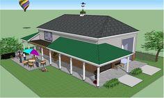 Bradley Mighty Steel RV Garage for sale, RV Shelter pricing Pole Barn Garage, Pole Barn Homes, Garage House, Pole Barns, Car Garage, Rv Garage Plans, Garage Apartment Plans, Garage Ideas, 8x12 Shed Plans