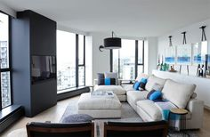 20 Design Ideas for Condo Living Areas ◆ West 2nd Street, North Vancouver