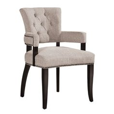 Olliix Ink+Ivy Brooklyn Dining Arm Chair (Set Of 2) IIF20-0057 - Olliix Ink+Ivy Brooklyn Dining Arm Chair (Set Of 2) IIF20-0057Comfortable And Vintage, Enjoy Our Brooklyn Seating. Features Brass Colored Nail Buttons And Deep Tufting. Set Of 2. Assembly Required.SKU: IIF20-0057Manufacturer: OlliixBrand: Ink+IvyPattern -1: BrooklynPattern -2: SolidDivision: FurnitureCategory: ChairMaterial: WoodColor: CreamCountry Of Origin: ChinaMaterial Details: 100%Polyester,Rubber Solid Wood…