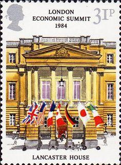 London Economic Summit Conference 31p Stamp (1984) Lancaster House