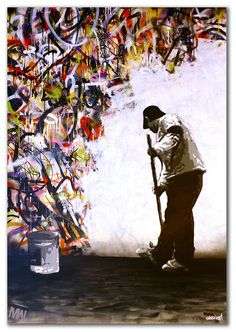 All White by Martin Whatson Luv this!!! I feel as if this piece represents my life.