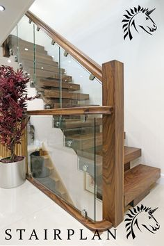 Walnut Staircases Offer The Ultimate Stairway Design Statement These  Architectural Staircase Designs The X Vision Staircase From Stairplan  Staircase ...